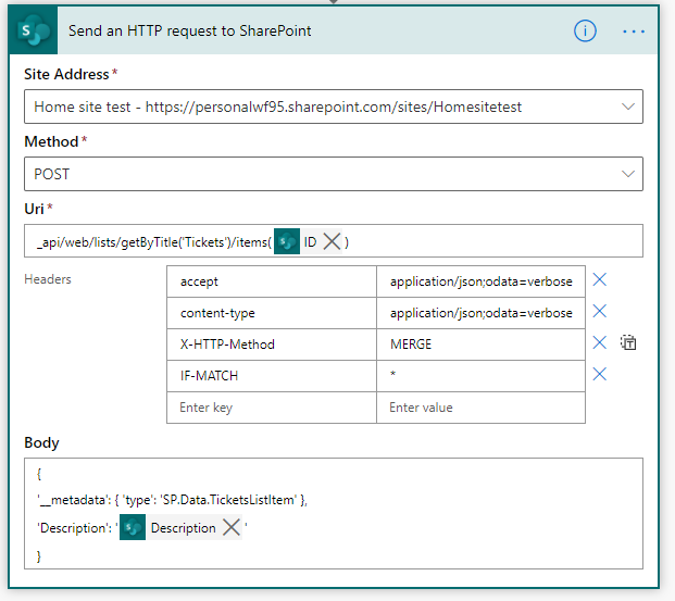 sharepoint rest api update list library